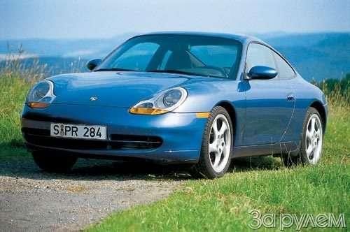 Porsche 911. два бойца нанюрбургринге— фото 13927