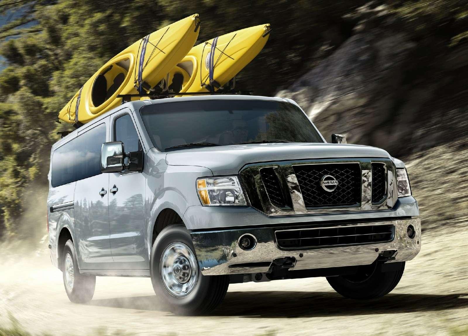 К черту даунсайзинг: исполина Nissan NVснабдят новым атмосферным V8— фото 674454