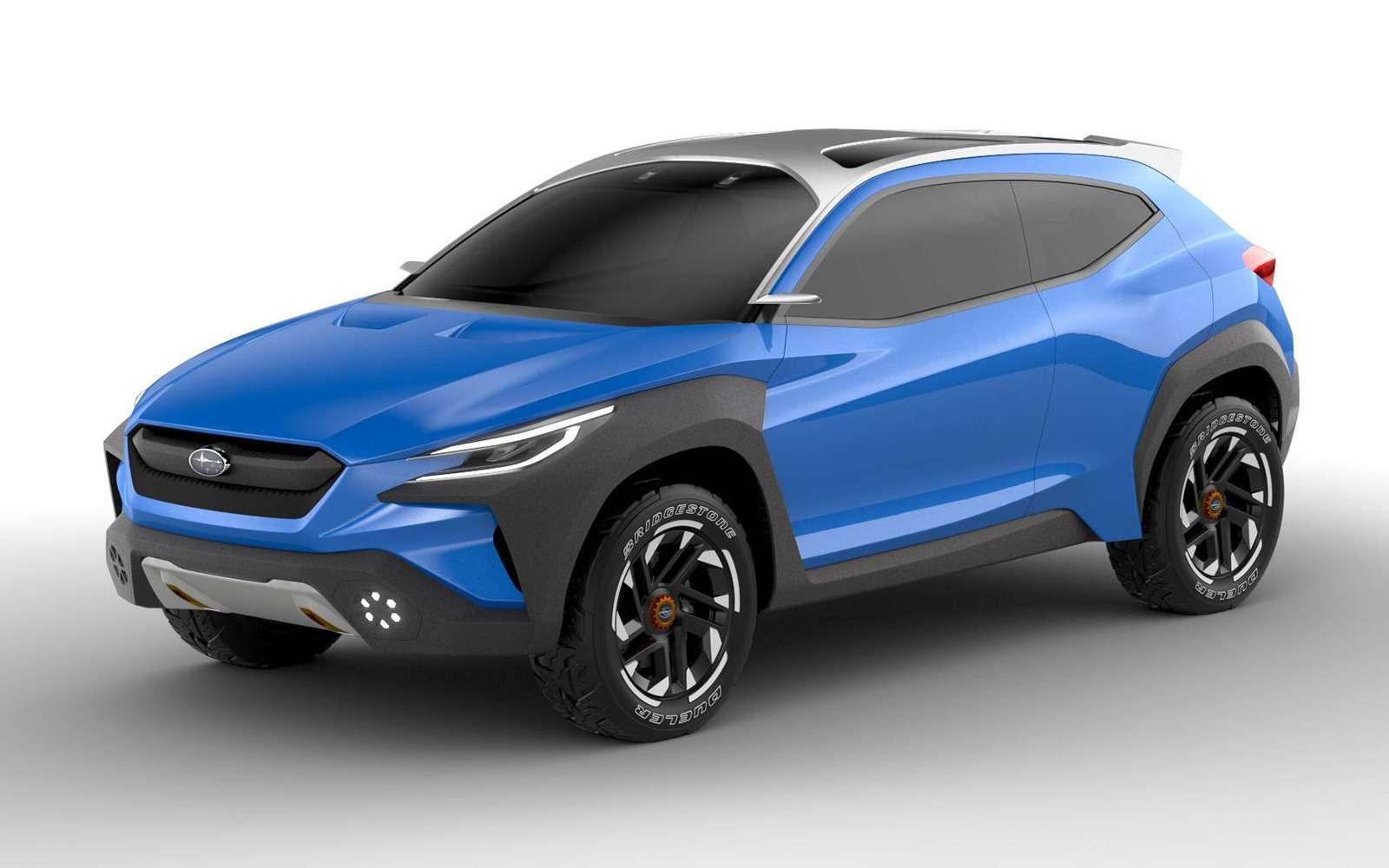 Subaru меняет дизайн: только посмотрите наэтот концепт!— фото 954588