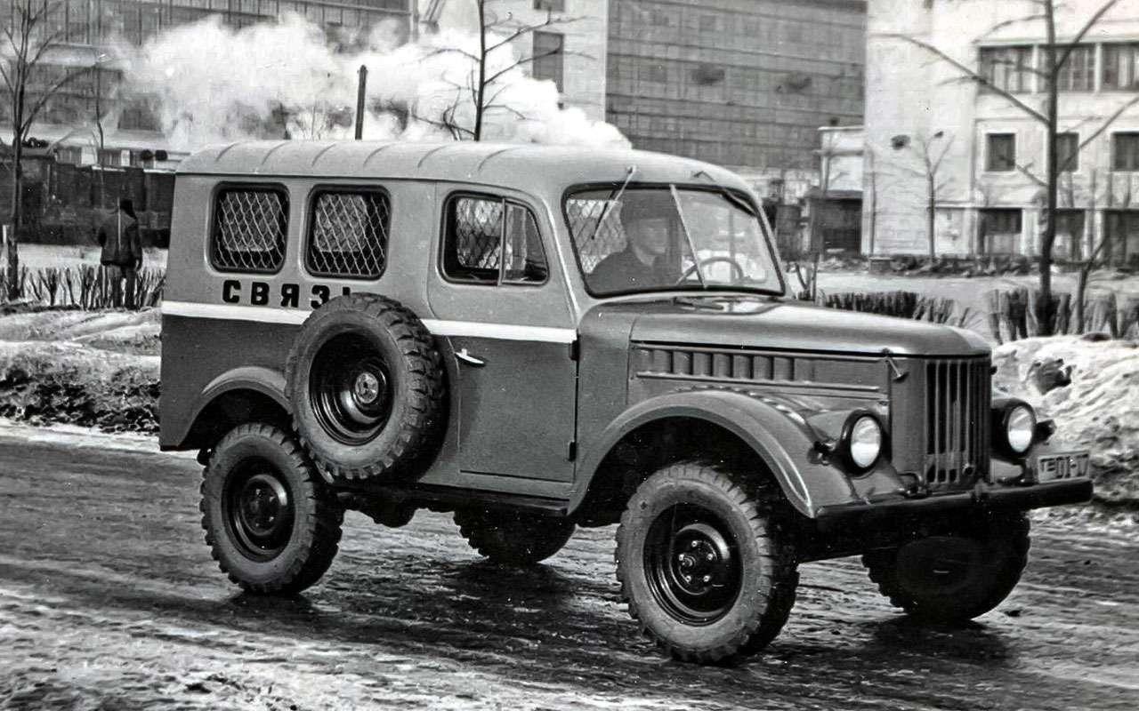 Современник трех генсеков— ГАЗ-69 отмечает 65лет— фото 769196