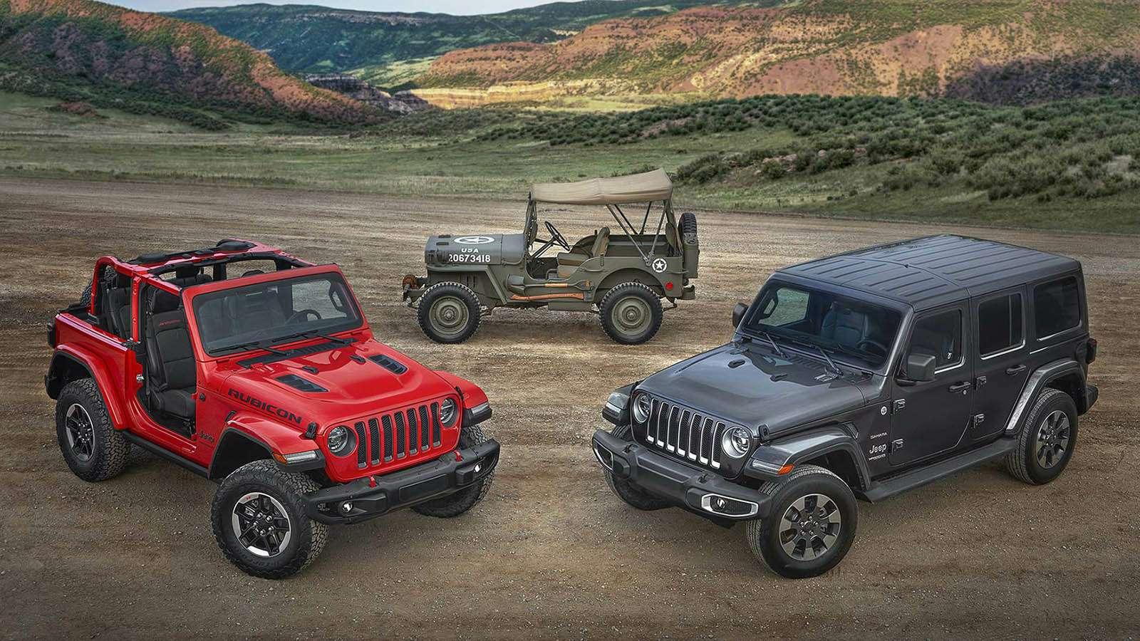 Новый Jeep Wrangler: найди десять отличий— фото 821264