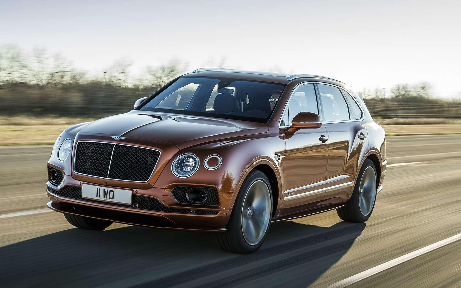Самый быстрый внедорожник— теперь это Bentley— фото 949159