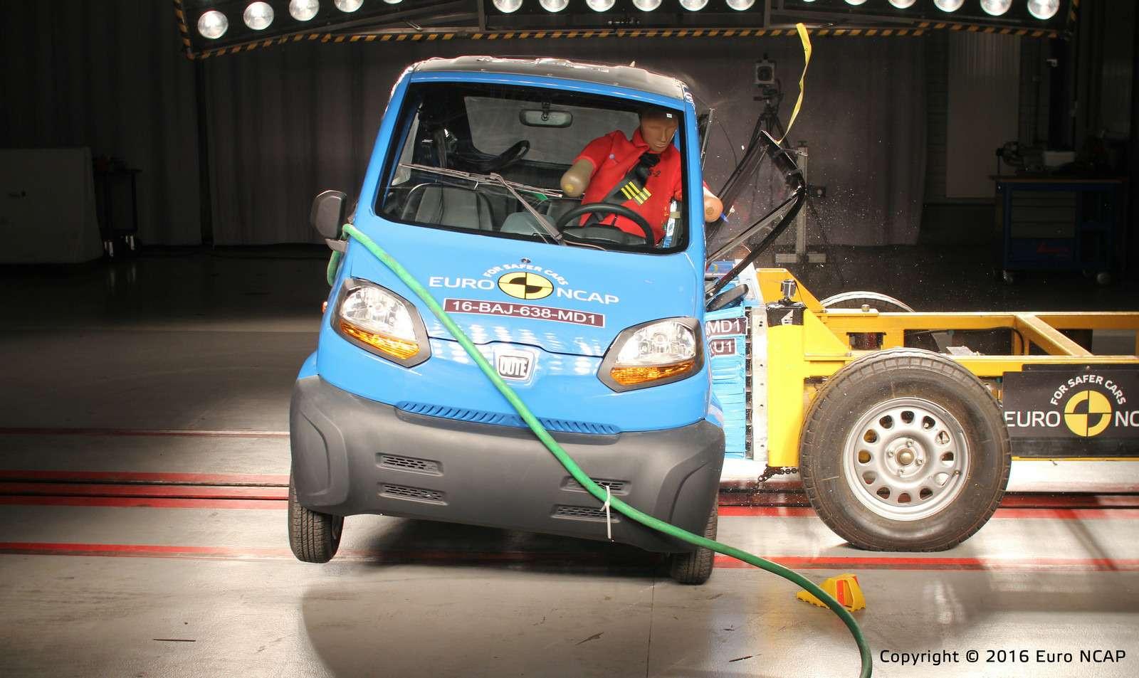 Euro NCAP огласил ужасающие результаты краш-тестов тяжелых квадроциклов— фото 573077