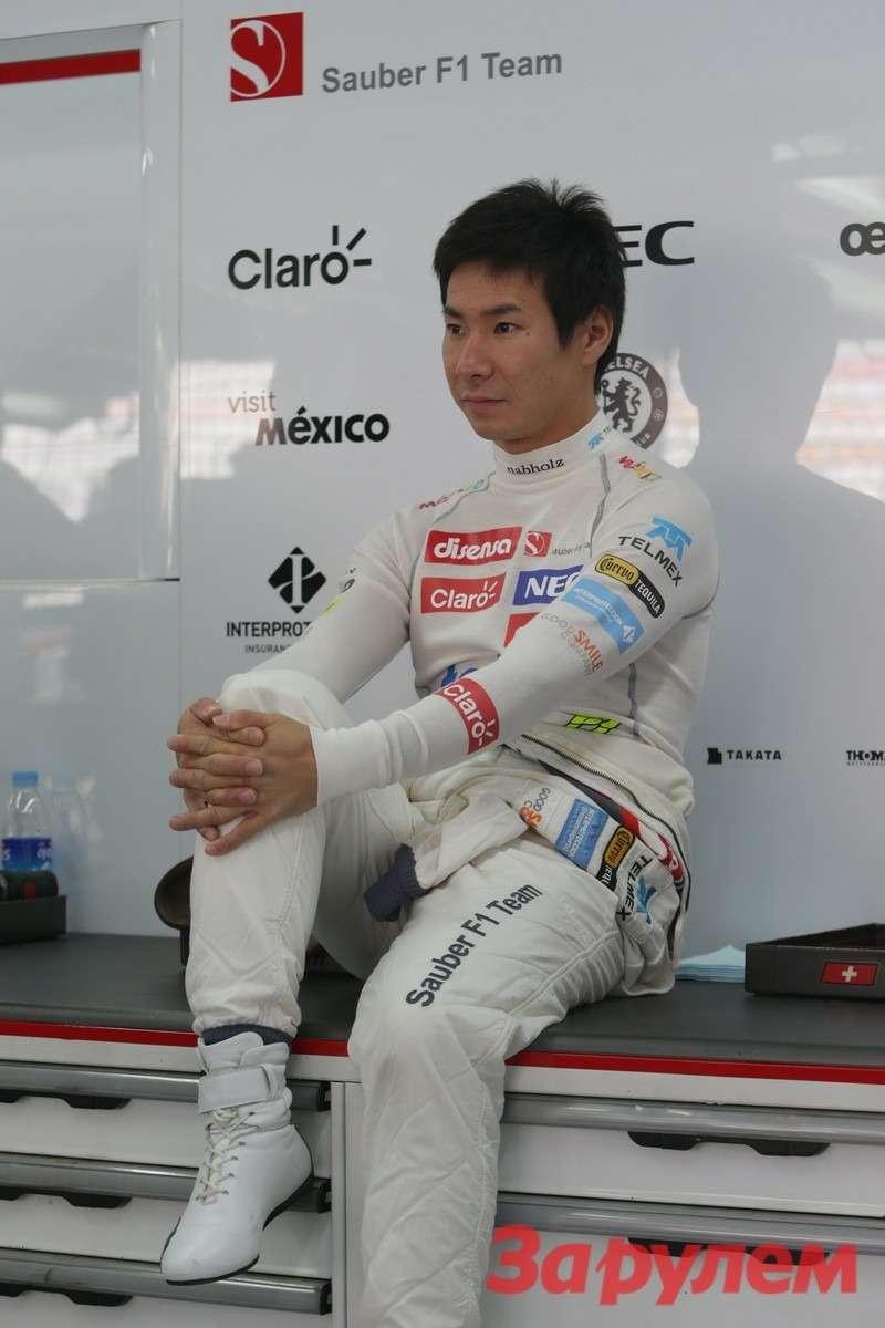 Камуи Кобаяши, Sauber