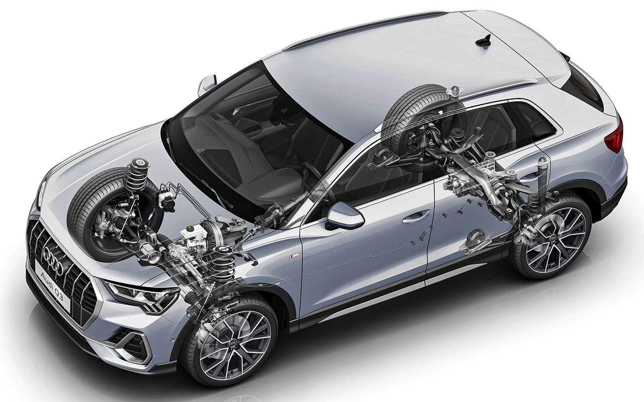 Новый Audi Q3для России— первый тест— фото 1030651