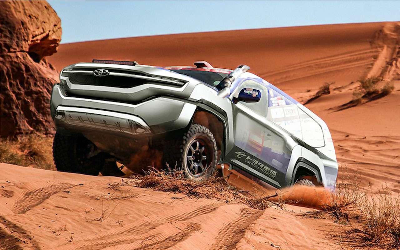 Новый Toyota Land Cruiser Prado  уже скоро