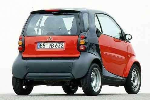 Наавтомобилях Smart не работают задние фонари— фото 33244