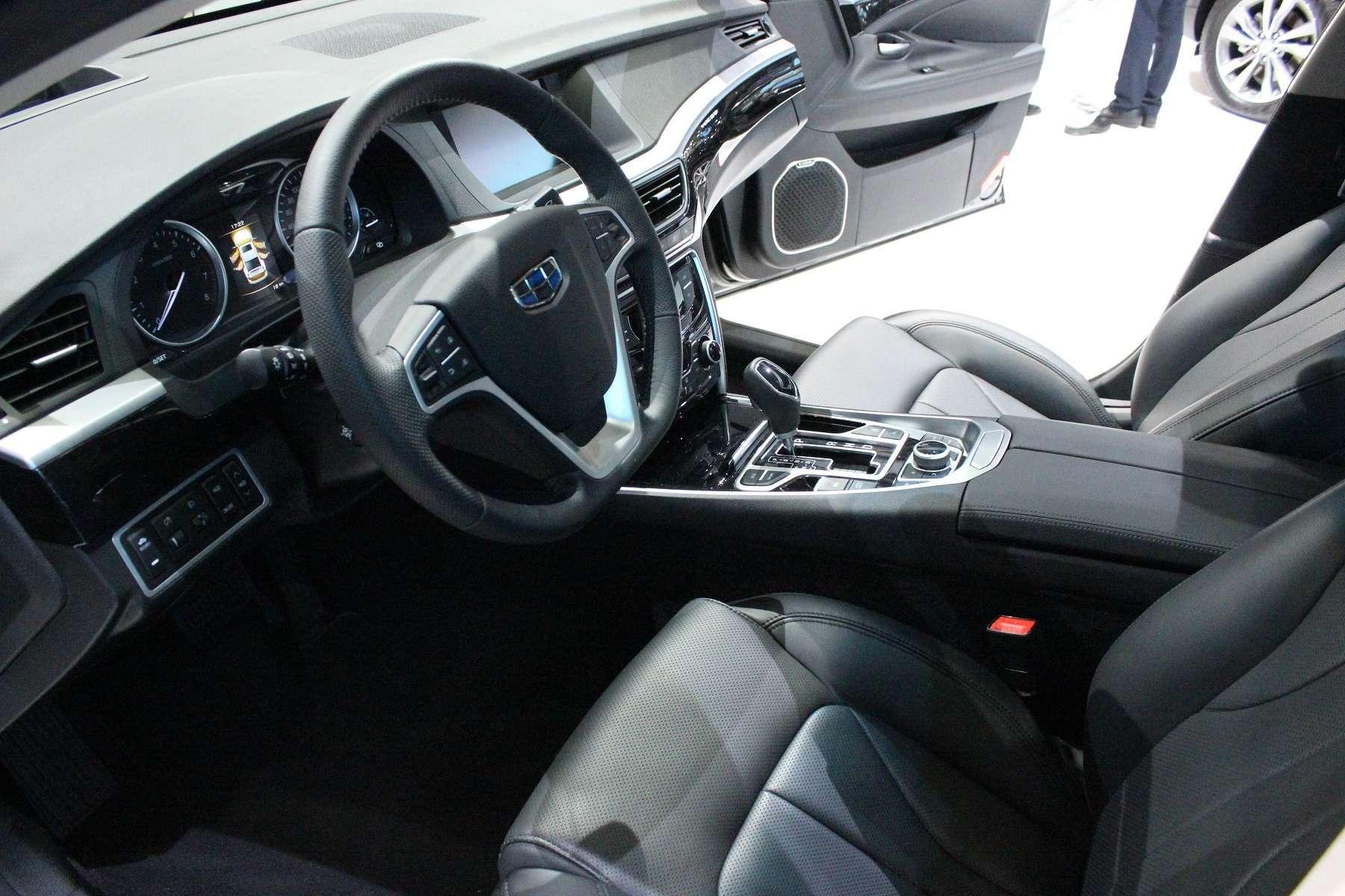 Великолепный странник: наМосковском мотор-шоу показали седан Geely Emgrand GT— фото 623940