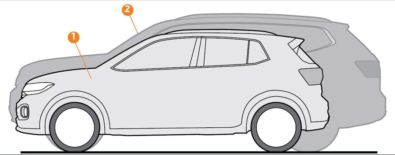 Тест самого маленького кроссовера Volkswagen— T‑Cross