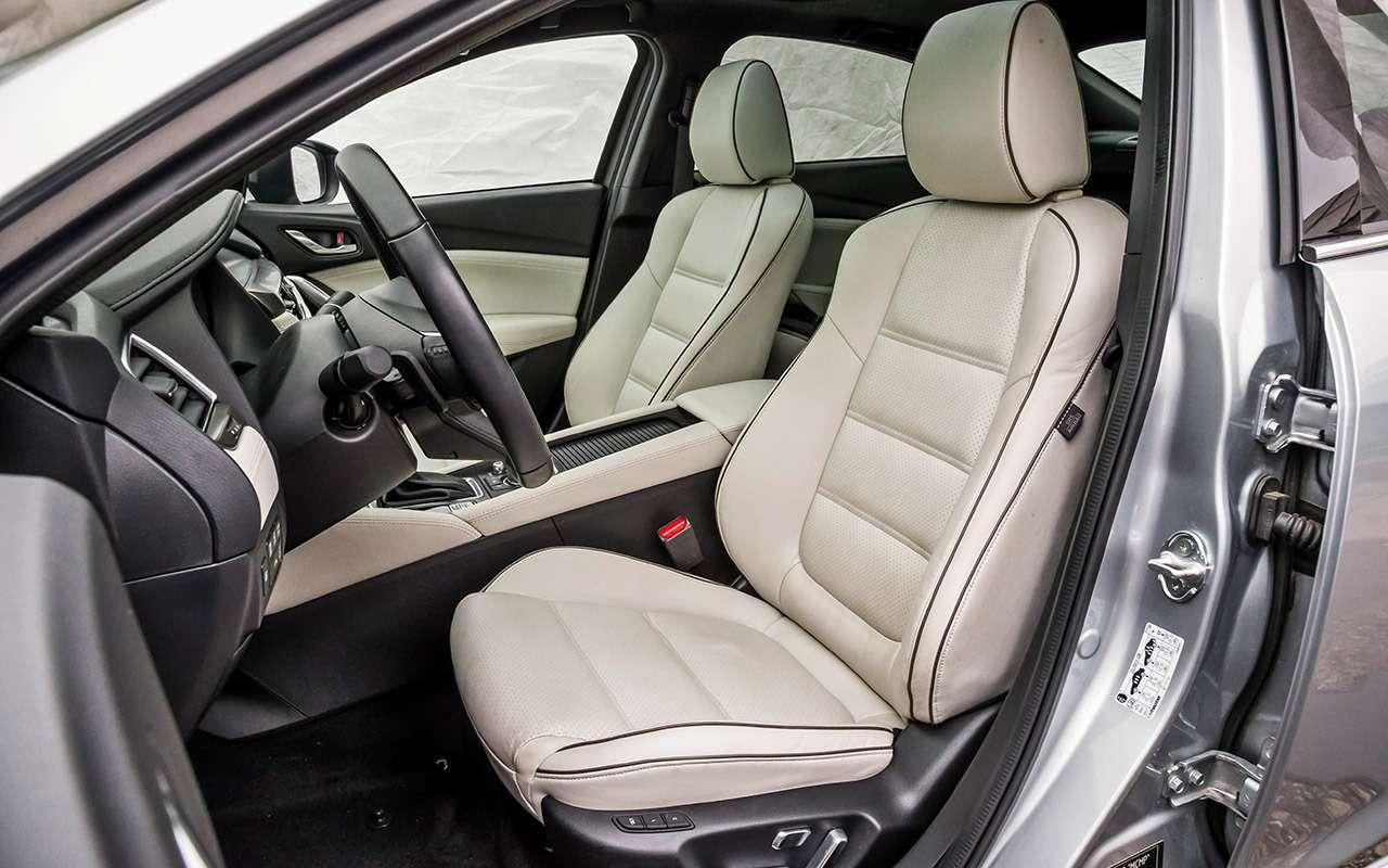 Hyundai Sonata против конкурентов— большой тест ЗР— фото 834905