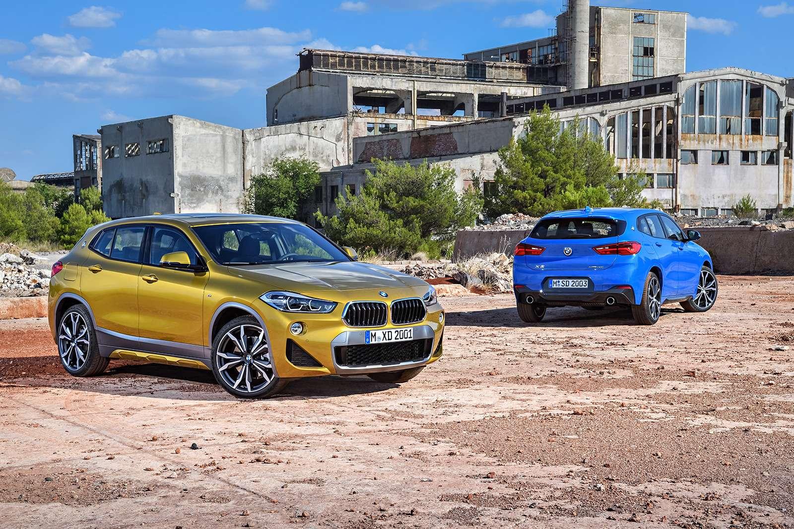 Мал, даудал: BMW рассекретила кроссовер X2— фото 809840