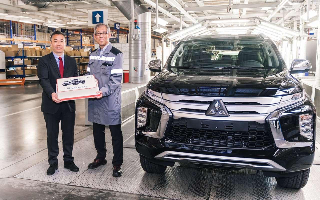 Обновленный Mitsubishi Pajero Sport: старт производства