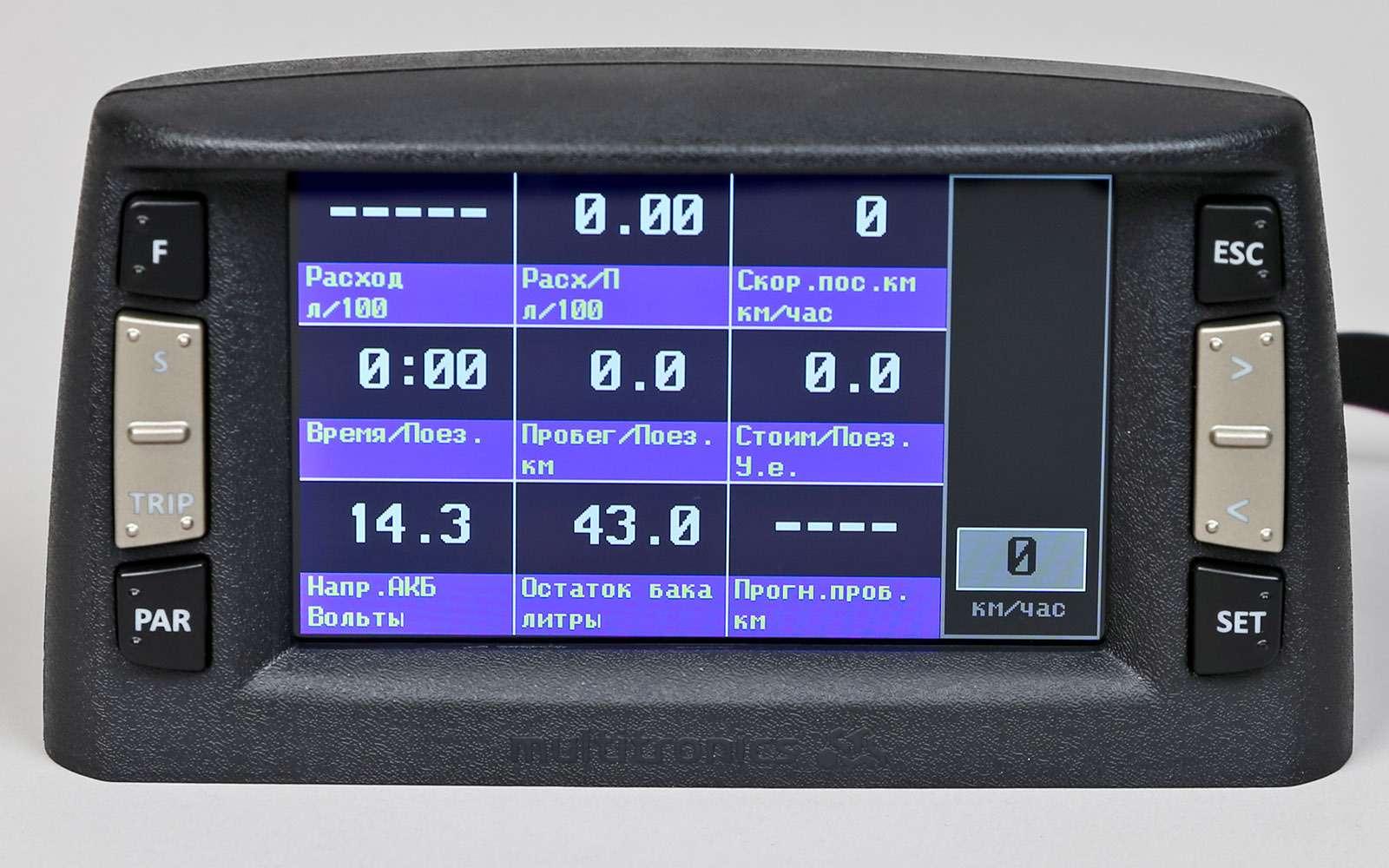 Бортовые компьютеры длябюджетных авто: сравниваем шесть моделей— фото 720016