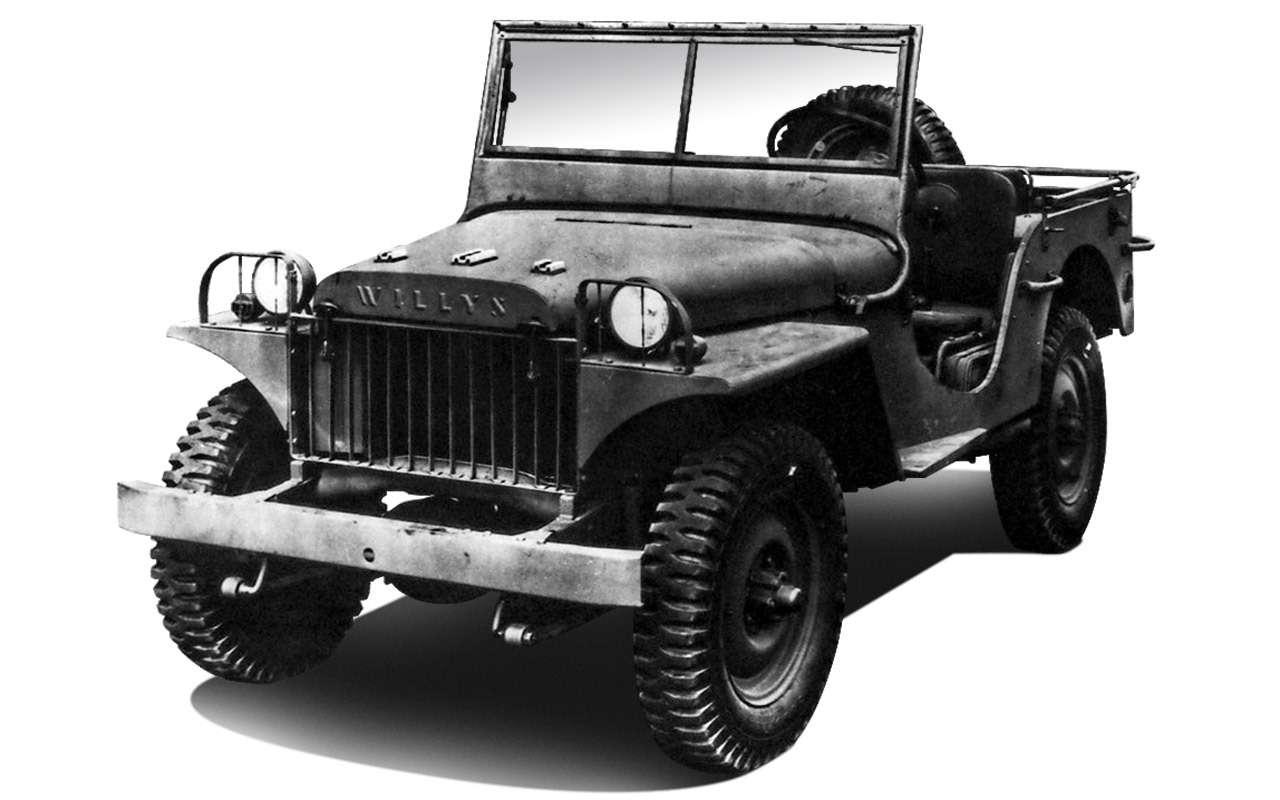 Самый популярный автомобиль войны: все факты оWillys MB— фото 972670