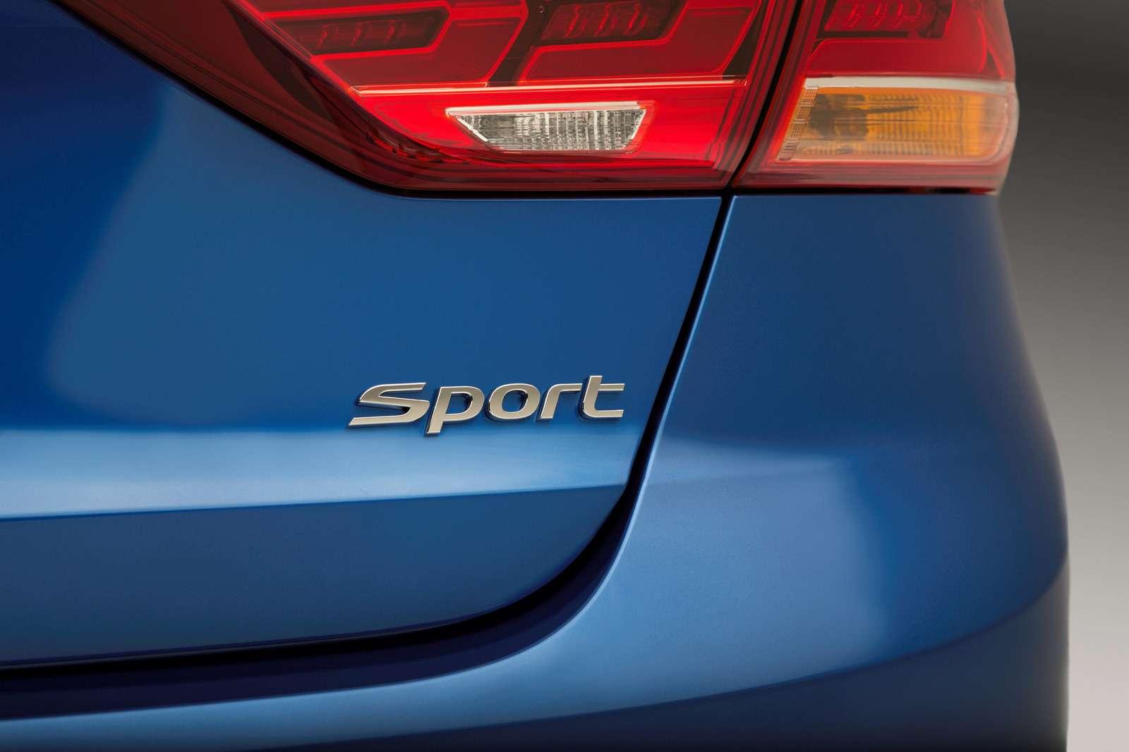 Hyundai Elantra Sport: принимай, Америка, мультилинк!— фото 607945