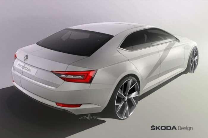141222 SKODA Superb Design Sketch_jpg