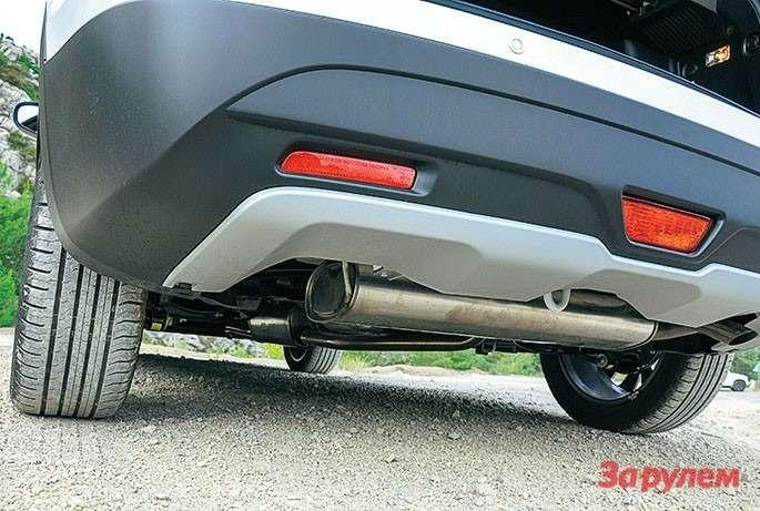 Suzuki New SX4 выхлопная система