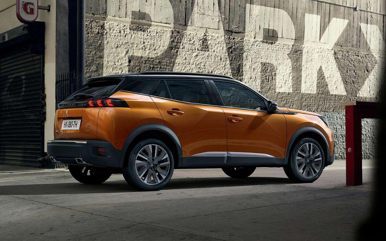 Peugeot представил конкурента Kia Seltos— фото 981309