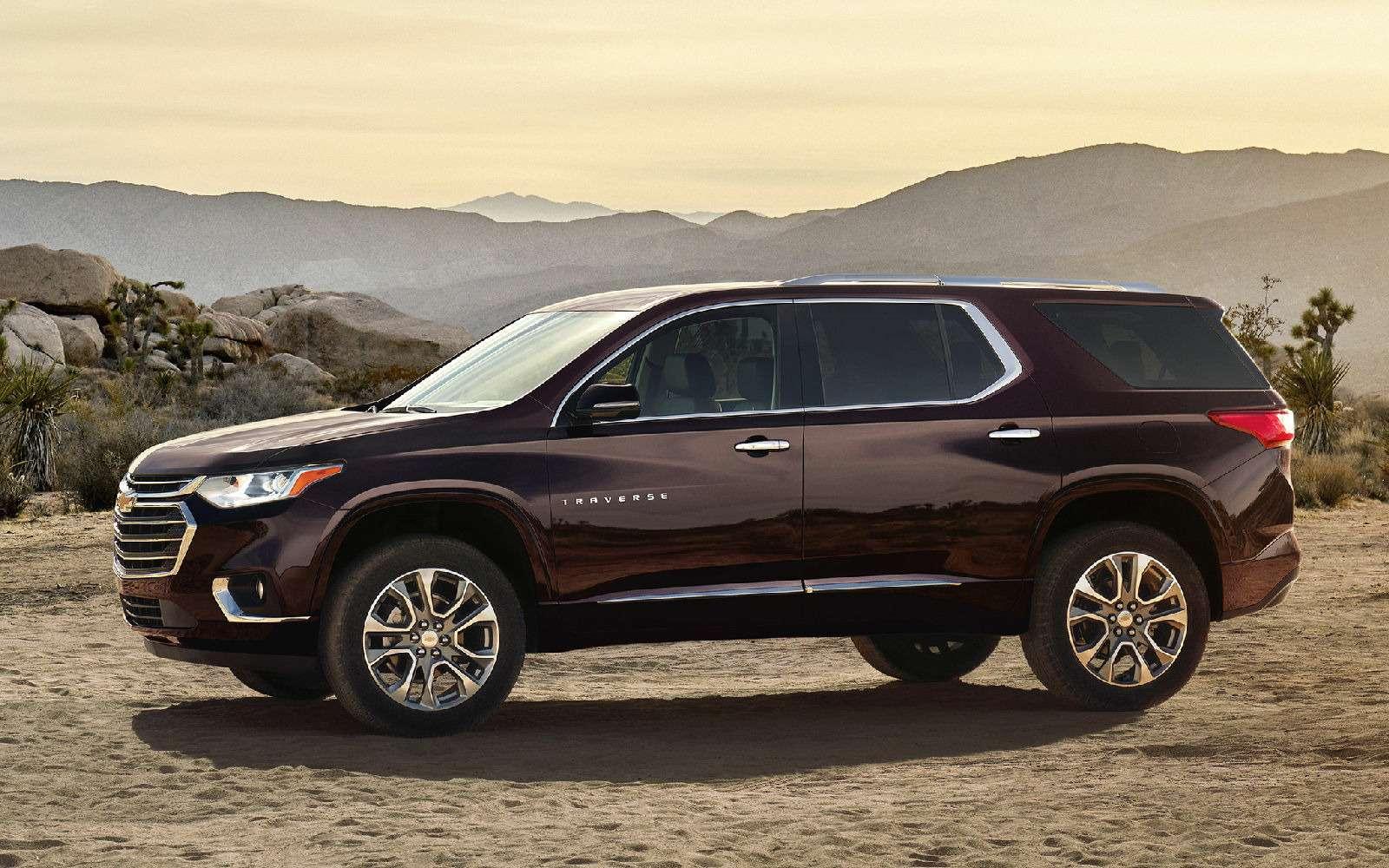 Chevrolet Traverse: новый кроссовер-гигант едет вРоссию— фото 690191