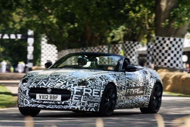 Jaguar F-Type test prototype side-front view_no_copyright