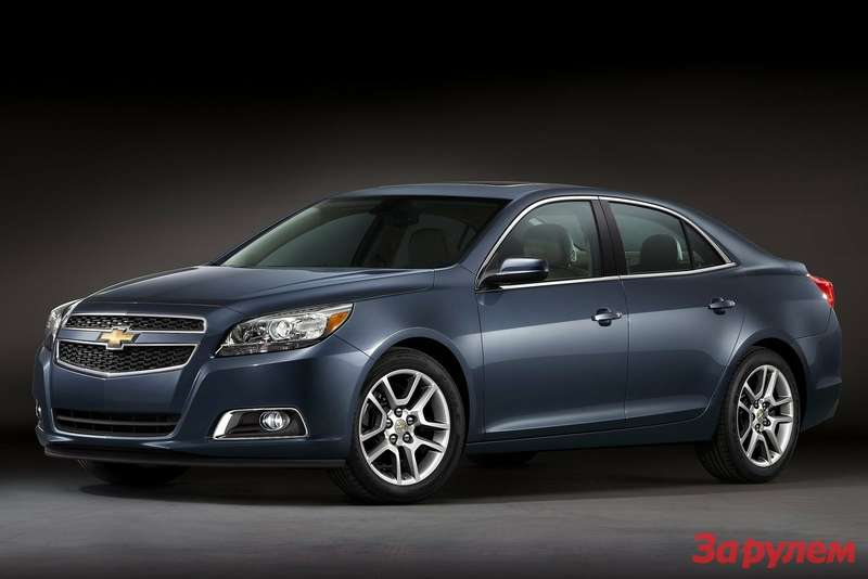 Chevrolet Malibu ECO side-front view