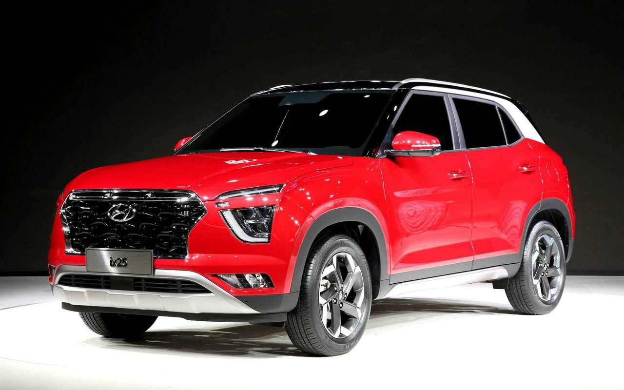 Новая Hyundai Creta— первые подробности— фото 966765