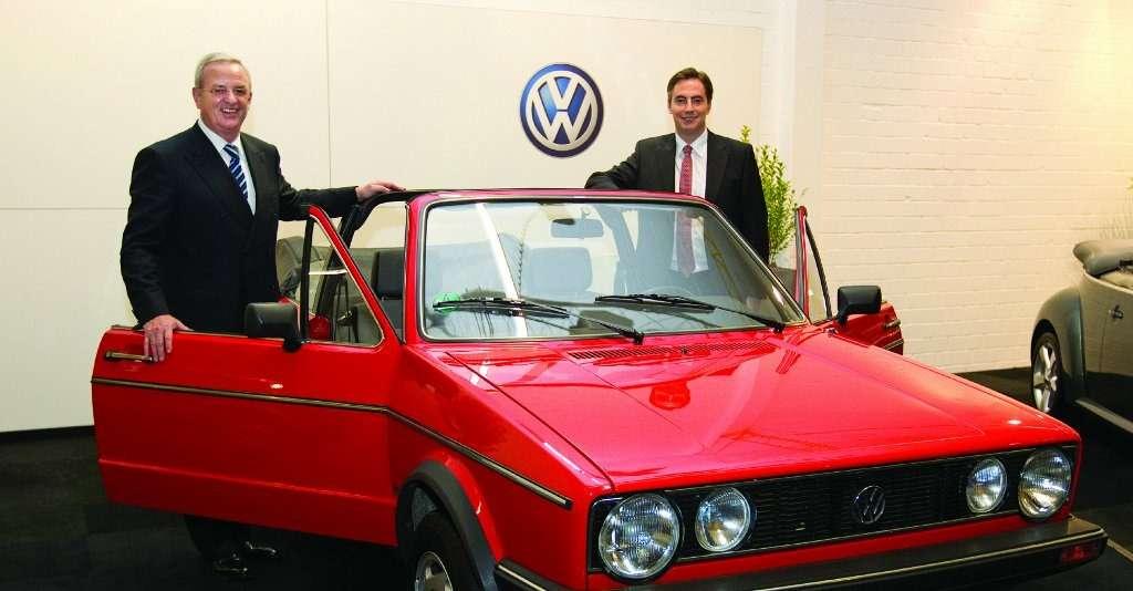 Глава совета директоров Volkswagen Мартин Винтеркорн.