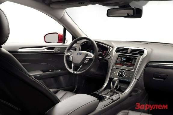 Ford Fusion inside