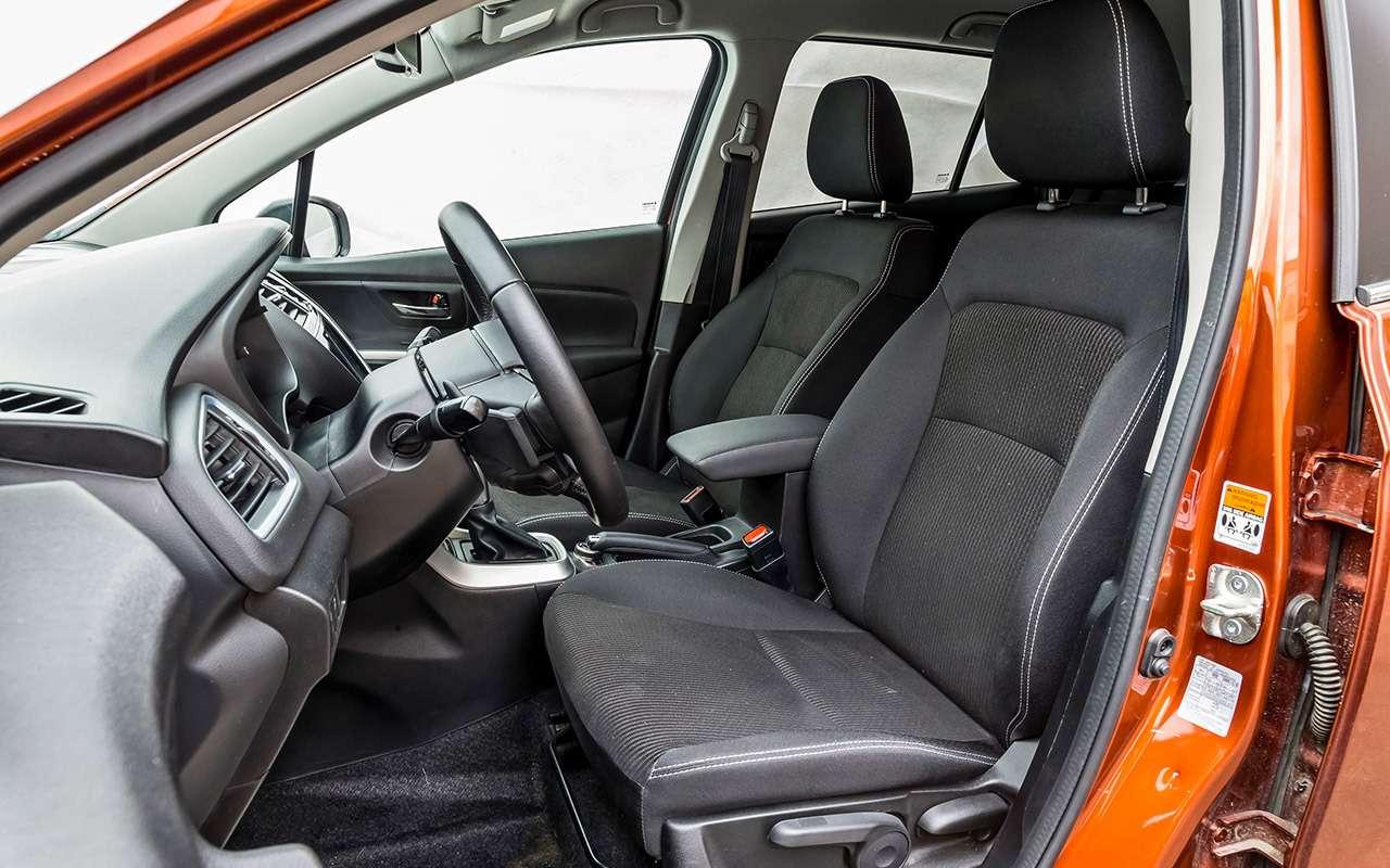 Большой тест кроссоверов: Nissan Qashqai, Mitsubishi ASX иSuzuki SX4— фото 978204
