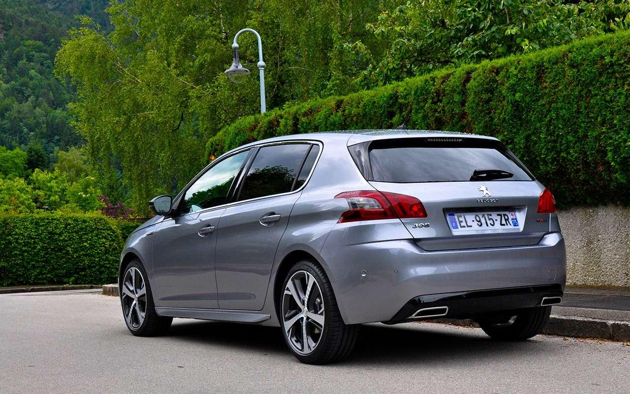 Время дляреванша— обновленный Peugeot 308на тест-драйве— фото 790817