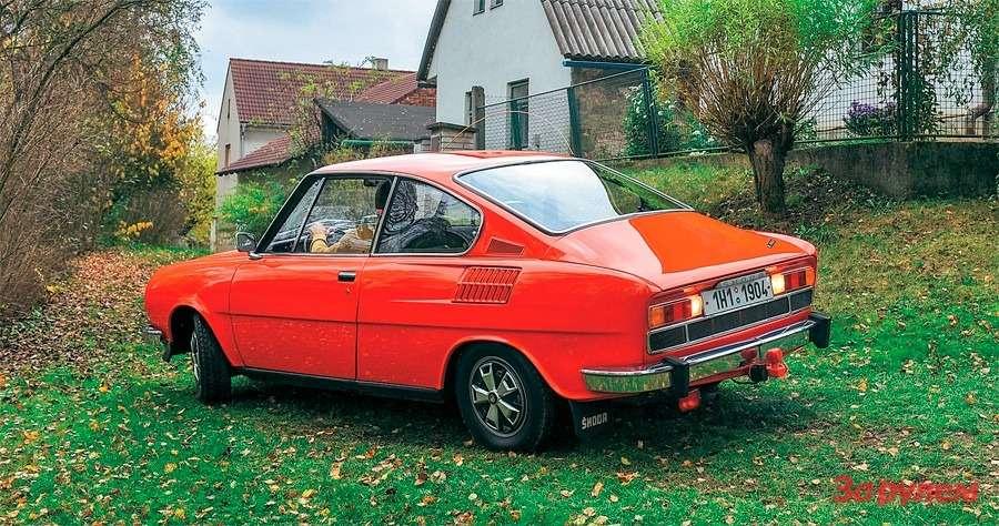 Skoda 110R Coupe: Богемская рапсодия— фото 258347