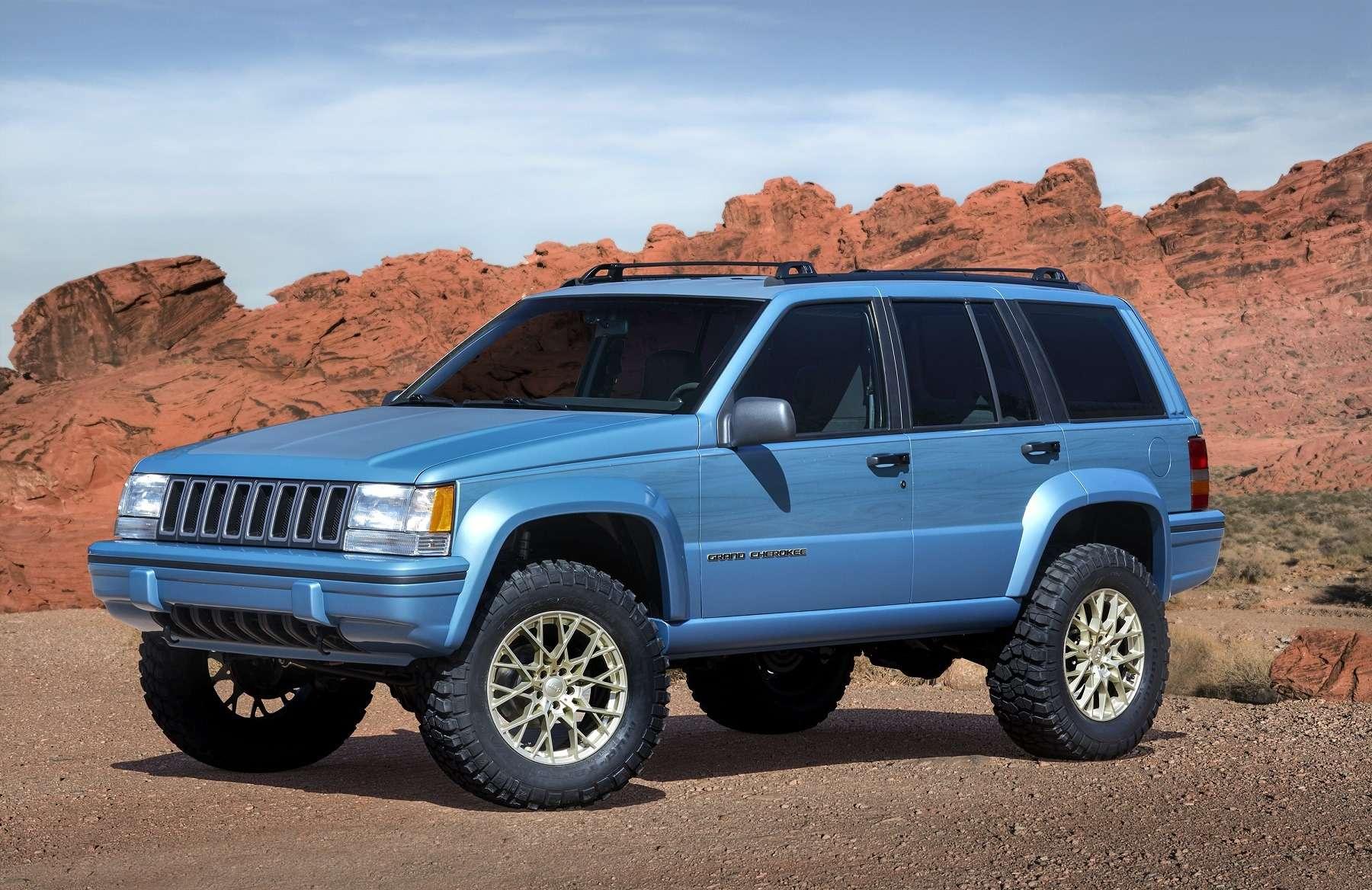 Онвернулся: Jeep представил… Grand Cherokee первого поколения— фото 729905