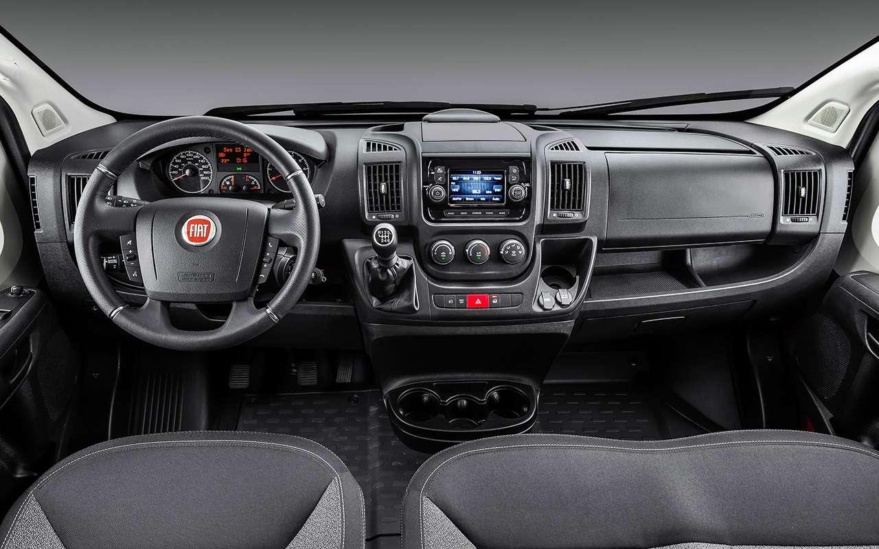 Модернизированный Fiat Ducato: новые моторы иавтомат— фото 988859