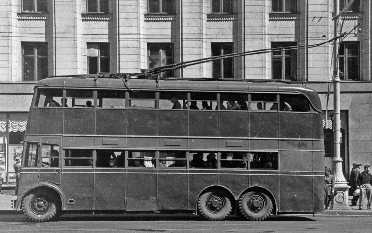 9 самых необычных советских автобусов (итроллейбусов)— фото 1258915