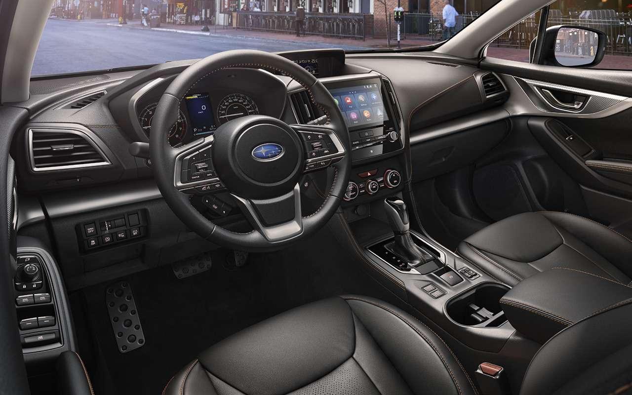 Обновленный Subaru XV: начались продажи— фото 1234044
