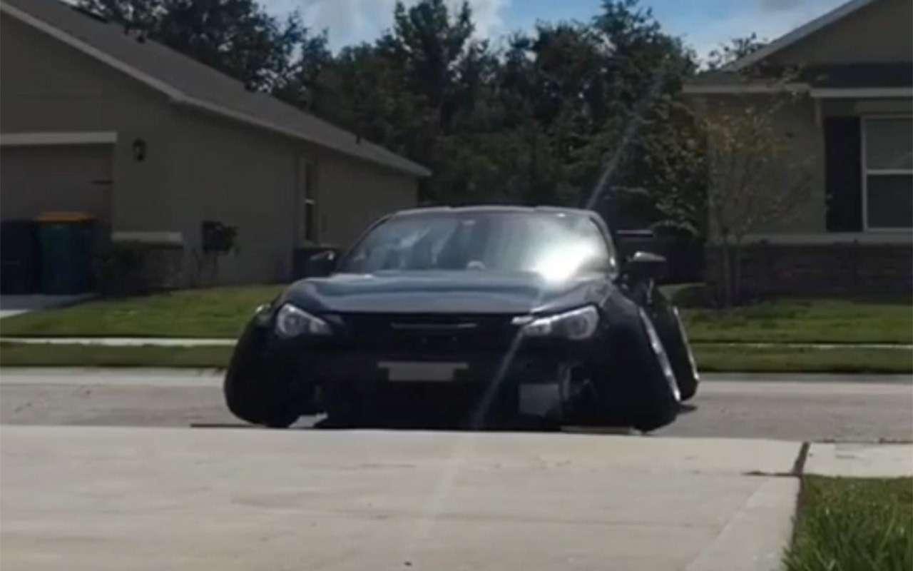 Самый смешной тюнинг Тойоты— она не едет, аскребет «пузом»