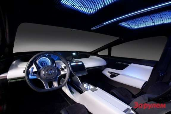 Toyota NS4 Advanced Plug-in Hybrid Concept inside 2
