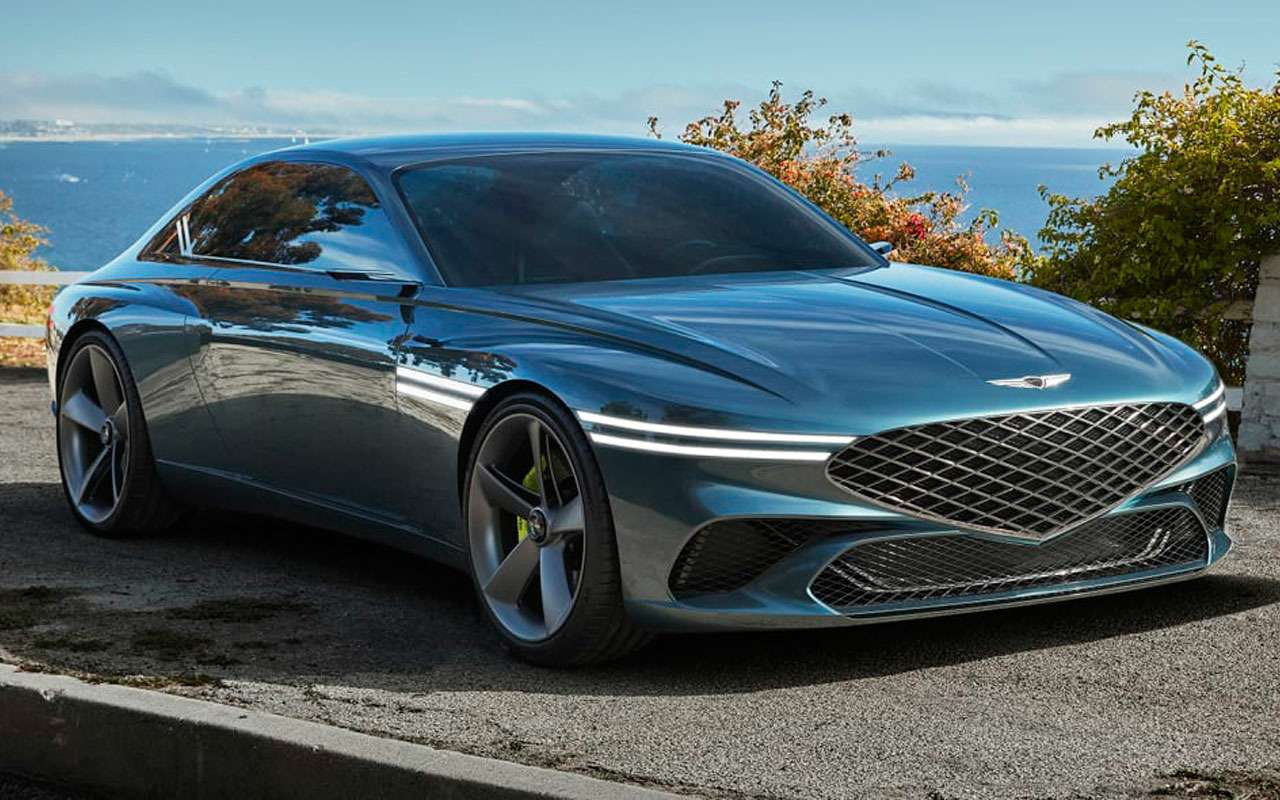 Genesis представил эффектное купе— фото 1235562