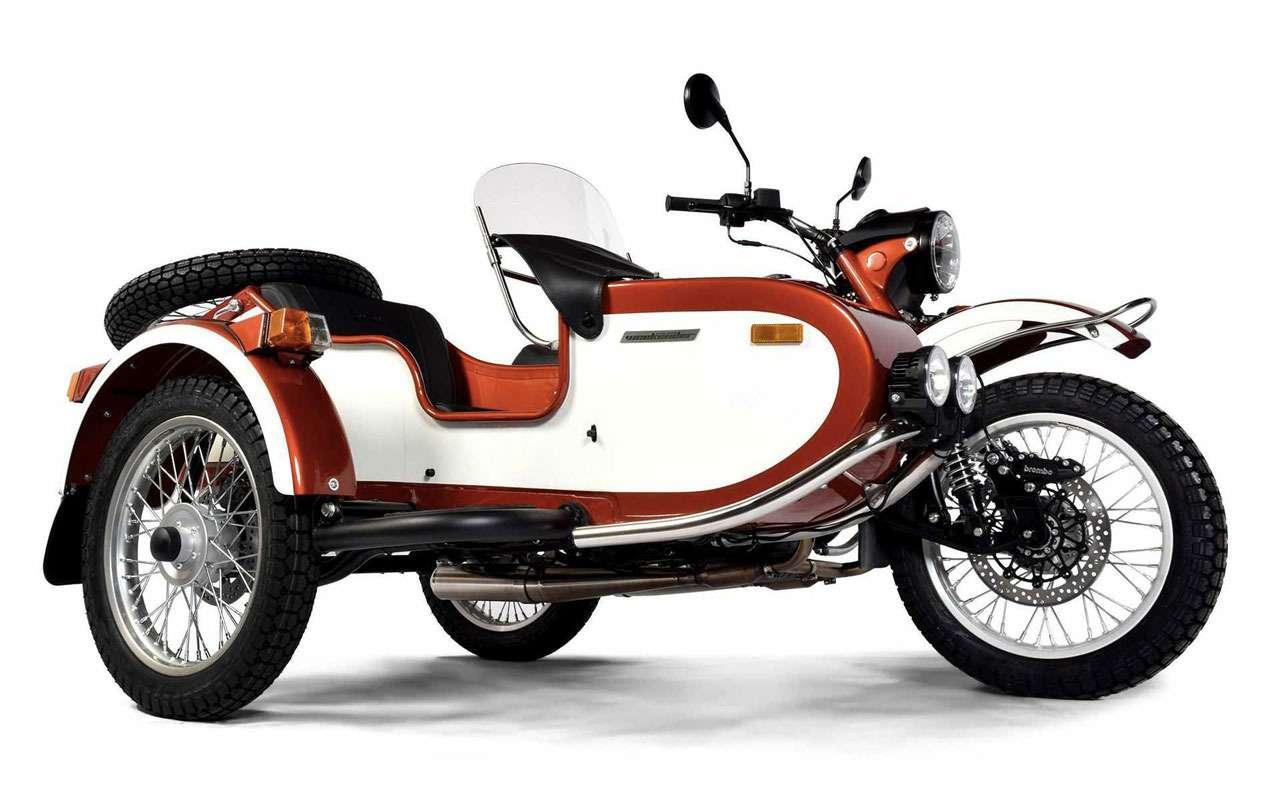 Новый мотоцикл Урал— специально длявыходных— фото 1168217