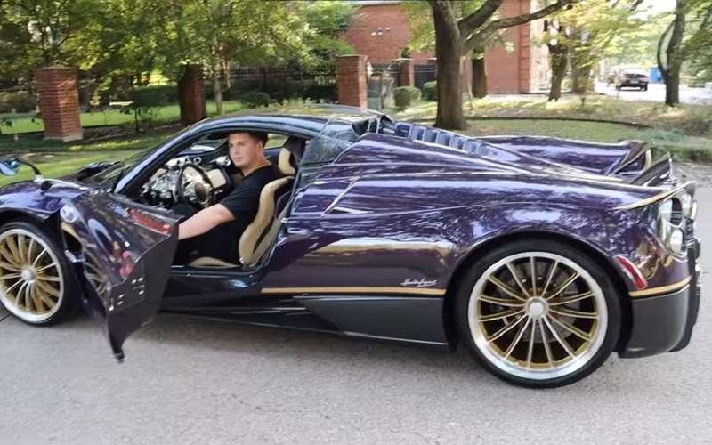 Подросток разбил отцовский Pagani Huayra за$3,4 млн.
