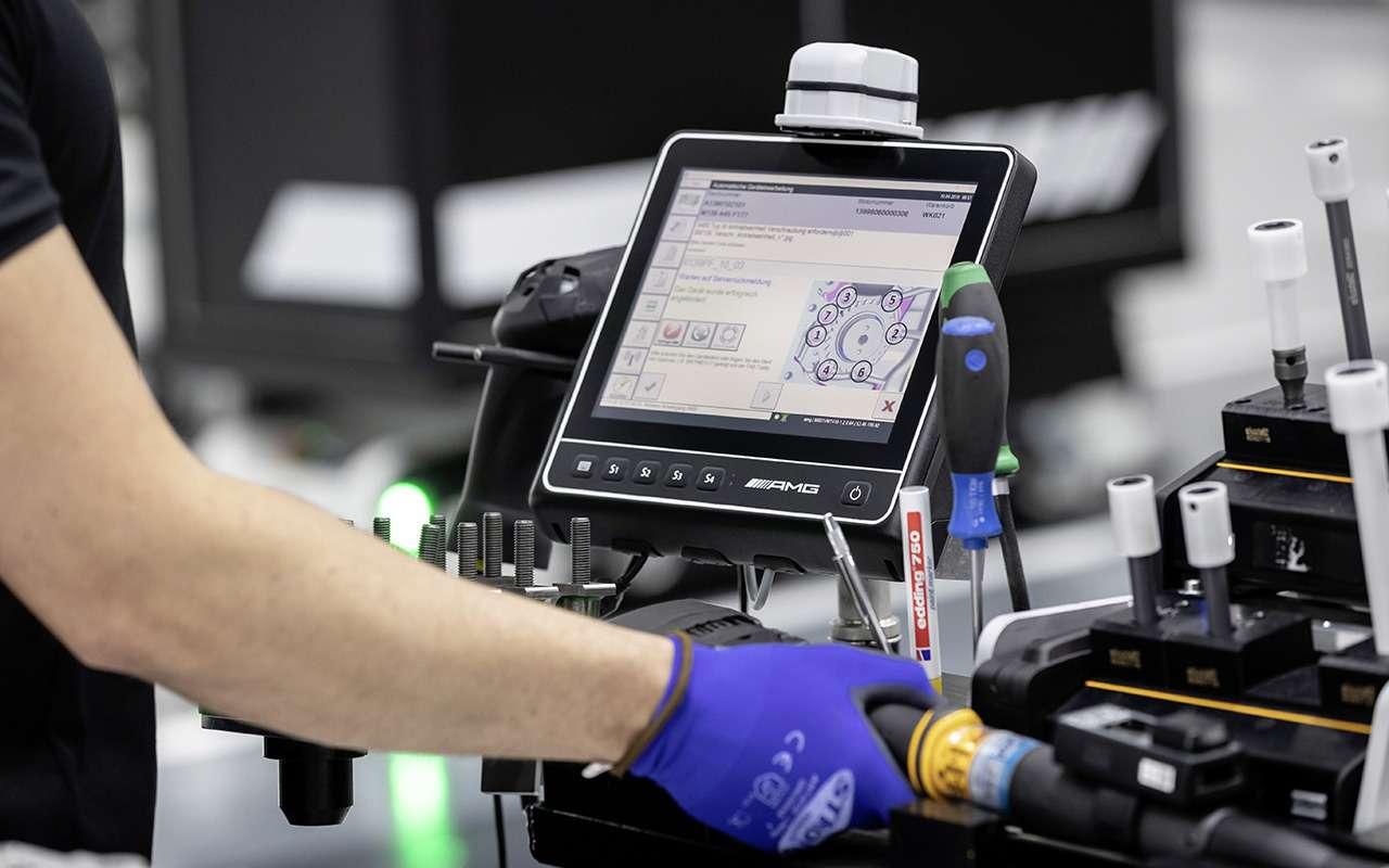 Турбированный двигатель Mercedes-AMG— новые подробности— фото 982765