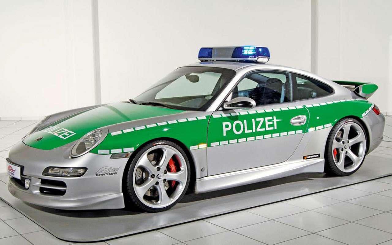 Топ-22 лучших ихудших полицейских автомобилей мира— фото 983533