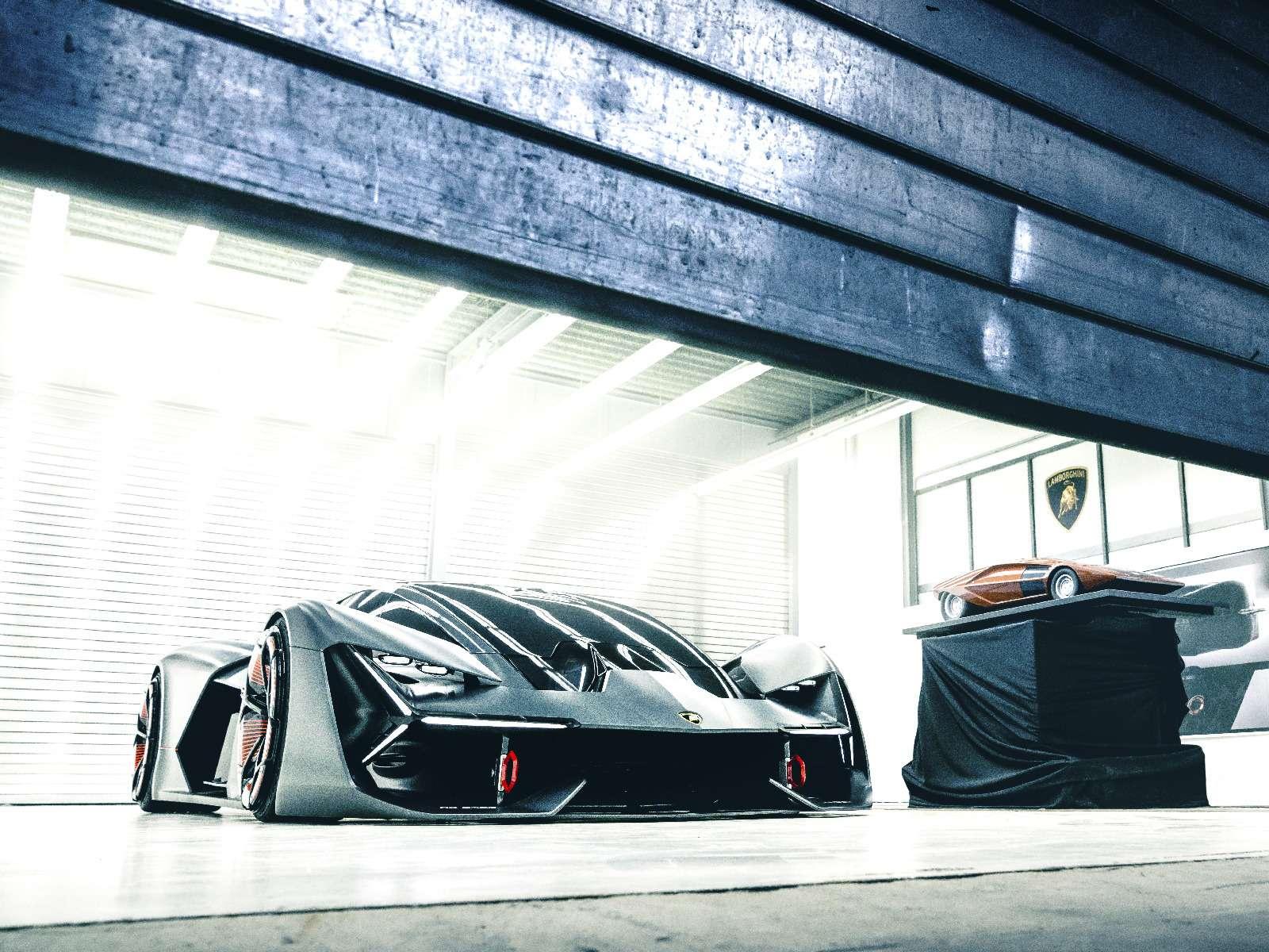 Lamborghini будущего: кузов-батарейка ссамовосстановлением— фото 813919