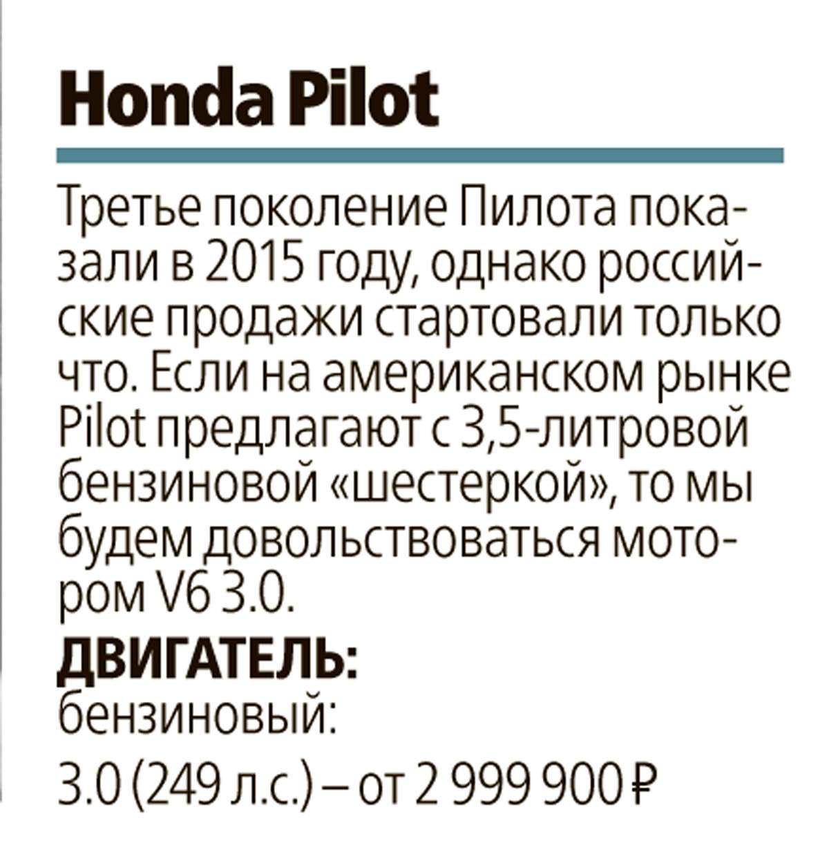 Тест полноразмерных кроссоверов: Honda Pilot, Kia Sorento Prime иFord Explorer— фото 615272