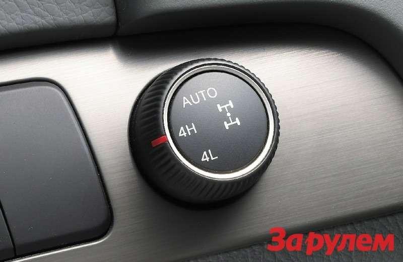 4 WD control button