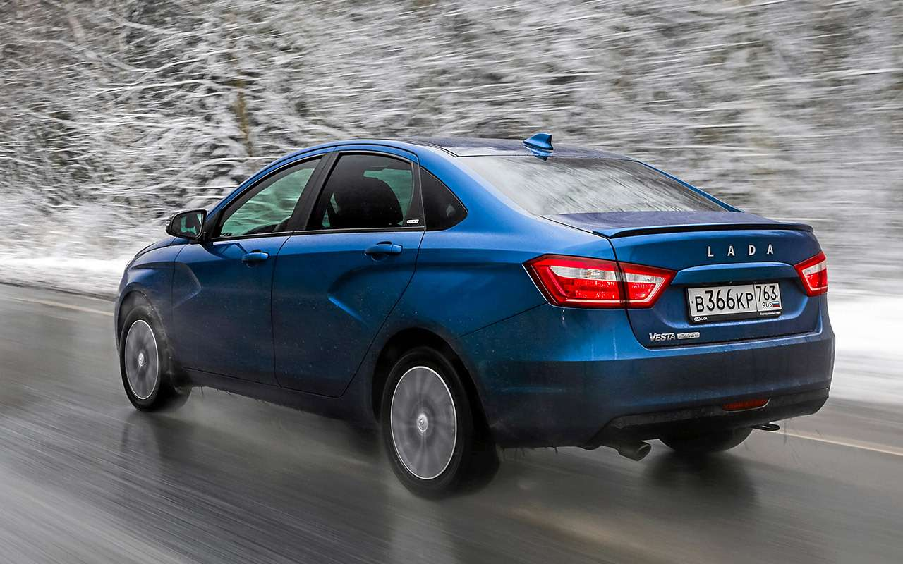 Chevrolet Cobalt иЛада Веста— большой тест— фото 1224471