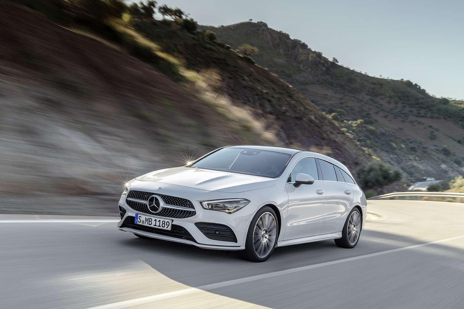 Новый Mercedes-Benz CLA Shooting Brake— все главные изменения— фото 954477
