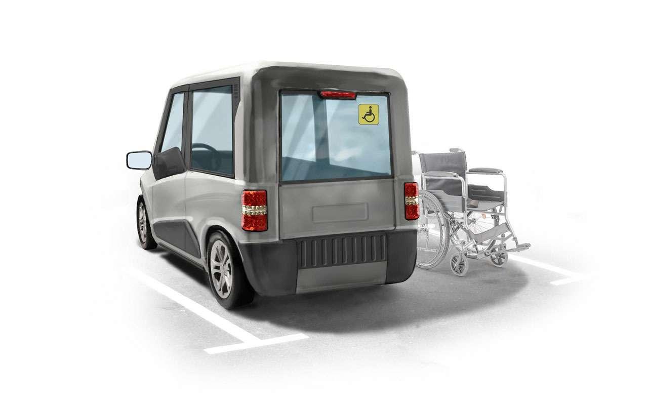 Нашновый автомобиль Zetta: все нестандартные инженерные решения— фото 977239