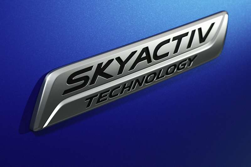 Mazda Skyactiv badge no copyright