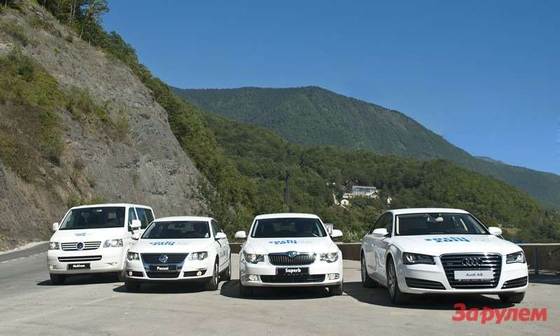 Automobiles for Sochi 2014
